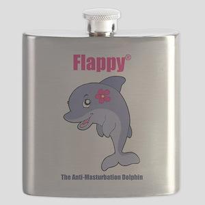 Flappy The Anti-Masturbation Dolphin Flask