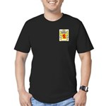 Cahaney Men's Fitted T-Shirt (dark)