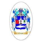 Cahan Sticker (Oval 50 pk)