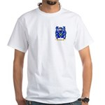 Caffyn White T-Shirt