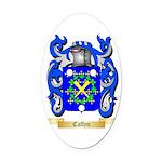 Caffyn Oval Car Magnet