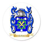 Caffyn Round Car Magnet