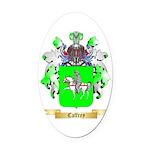 Caffrey Oval Car Magnet