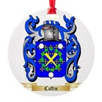 Caffin Round Ornament
