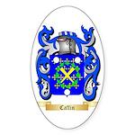 Caffin Sticker (Oval 50 pk)