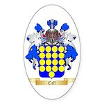 Caff Sticker (Oval 50 pk)