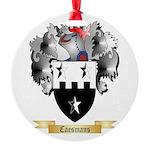 Caesmans Round Ornament