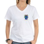 Caesar Women's V-Neck T-Shirt