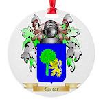 Caesar Round Ornament