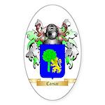 Caesar Sticker (Oval 10 pk)