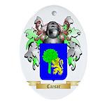 Caesar Ornament (Oval)
