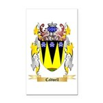 Cadwell Rectangle Car Magnet