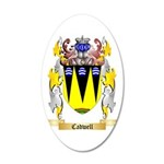 Cadwell 35x21 Oval Wall Decal