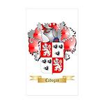 Cadogan Sticker (Rectangle 50 pk)