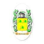 Cadman Oval Car Magnet
