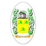 Cadman Sticker (Oval)