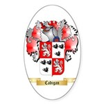 Cadigan Sticker (Oval)