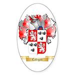 Cadigan Sticker (Oval 50 pk)