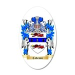 Cadeson 35x21 Oval Wall Decal