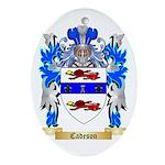 Cadeson Ornament (Oval)