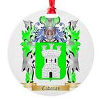 Cadenas Round Ornament