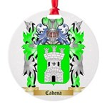 Cadena Round Ornament