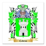Cadena Square Car Magnet 3