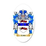 Caddy Oval Car Magnet