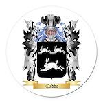 Caddo Round Car Magnet