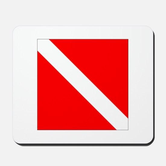 Dive Flag 1 Mousepad