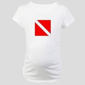 Dive Flag 1 Maternity T-Shirt