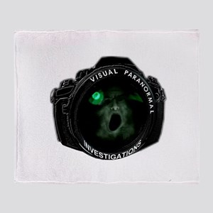 visual paranormal investigations Throw Blanket
