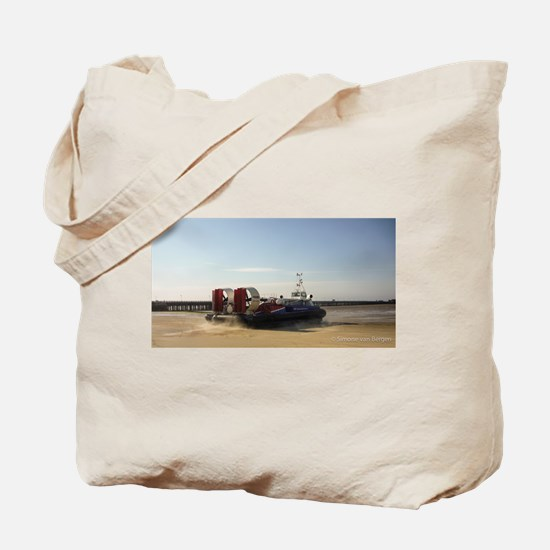 Isle of Wight Hovercraft Tote Bag