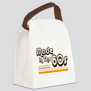 'Made in the 60s' Canvas Lunch Bag