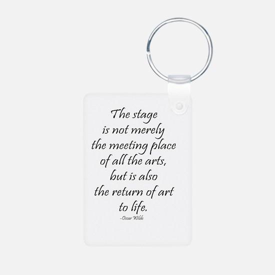 Oscar Wilde Keychains