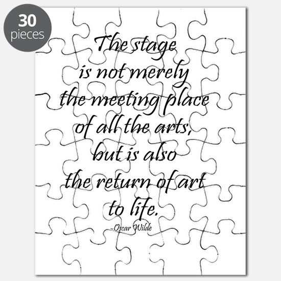 Oscar Wilde Puzzle