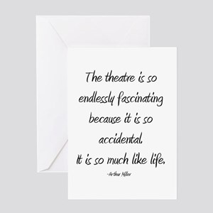Arthur Miller Greeting Card