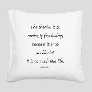 Arthur Miller Square Canvas Pillow