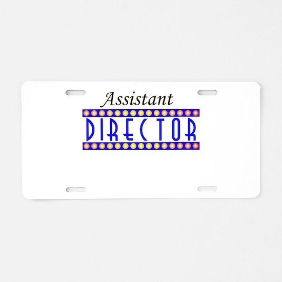 assistant.psd Aluminum License Plate