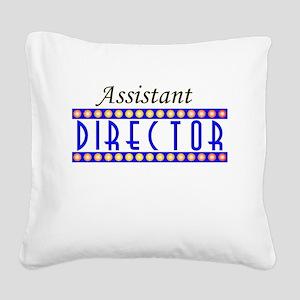 assistant Square Canvas Pillow
