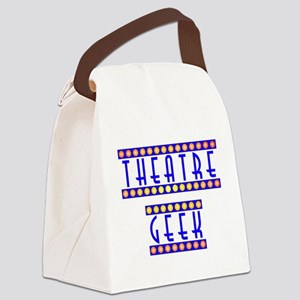 theatregeek2 Canvas Lunch Bag
