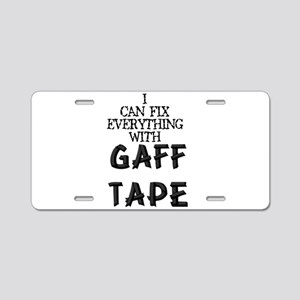 gaff Aluminum License Plate