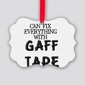 gaff Picture Ornament
