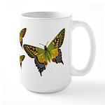 Green Butterfly Large Mug