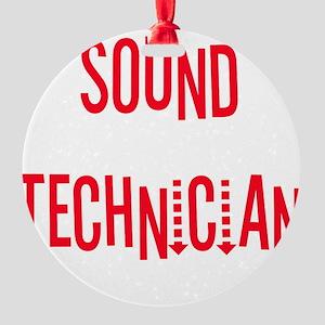 sound Round Ornament