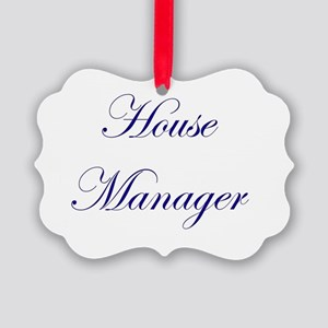 House Picture Ornament