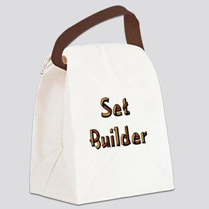 setbuilderblack Canvas Lunch Bag