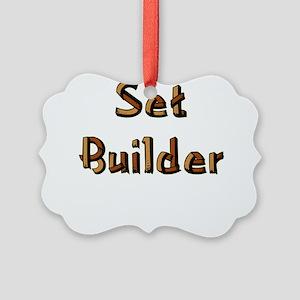 setbuilderblack Picture Ornament