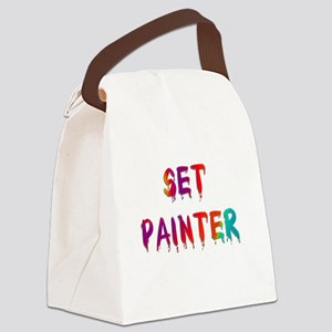 setpainter1 Canvas Lunch Bag