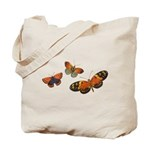 Orange Butterflies Tote Bag